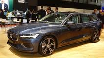 Volvo V60 at the 2018 Geneva Motor Show