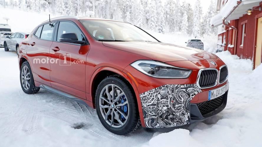 BMW X2 M35i Spy Photos