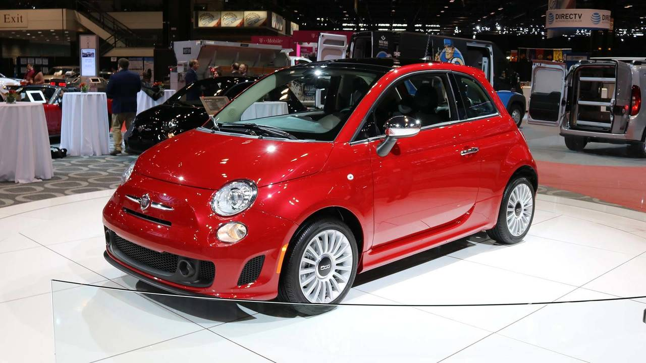 2018 fiat 500 chicago auto show photo. Black Bedroom Furniture Sets. Home Design Ideas