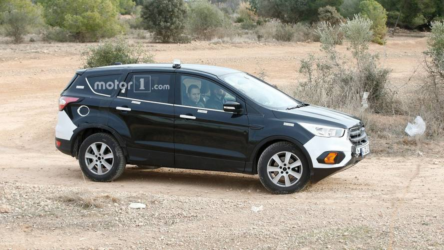 2020 Ford Kuga / Escape Spied Hiding Underneath Enlarged Test Mule