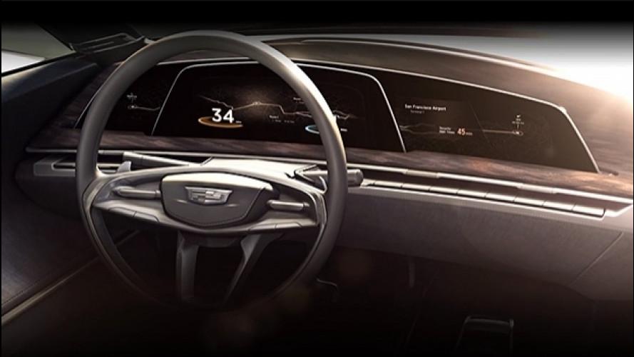 Cadillac prepara la strumentazione OLED [VIDEO]