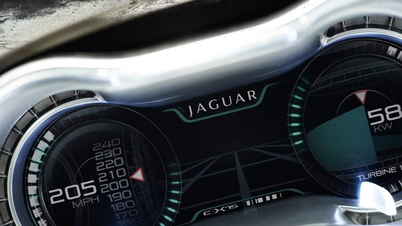 Jaguar C X75 Supercar Looks Even More Stunning As A