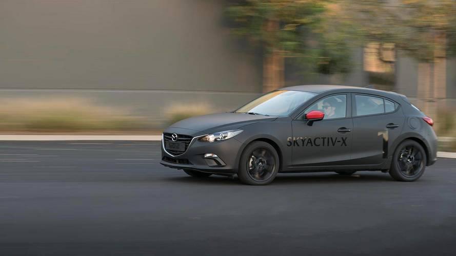 Mazda SkyActiv-X Prototype