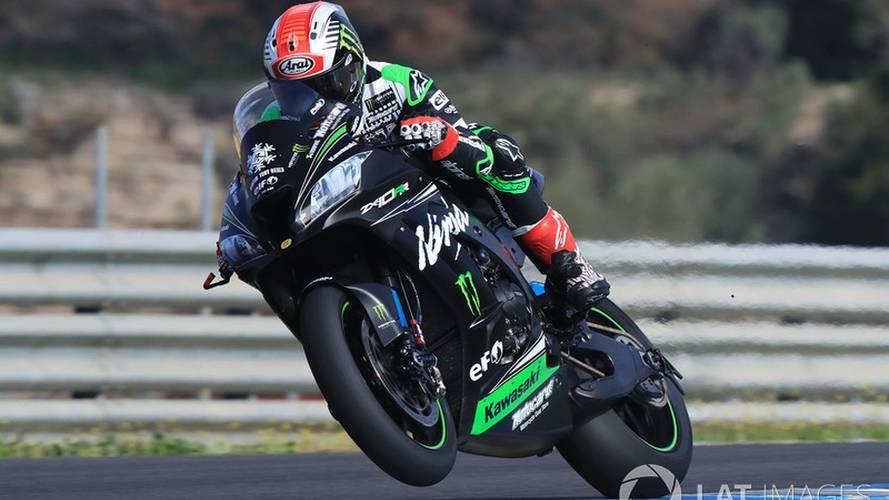 Kawasaki domina los test del WorldSBK en Jerez, con Sykes y Rea
