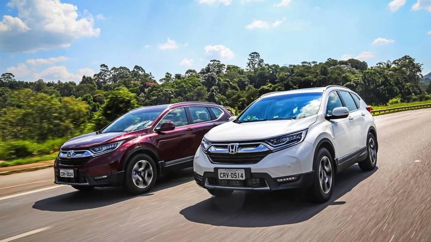 Novo Honda CR-V 2018 é lançado com motor turbo e itens inéditos