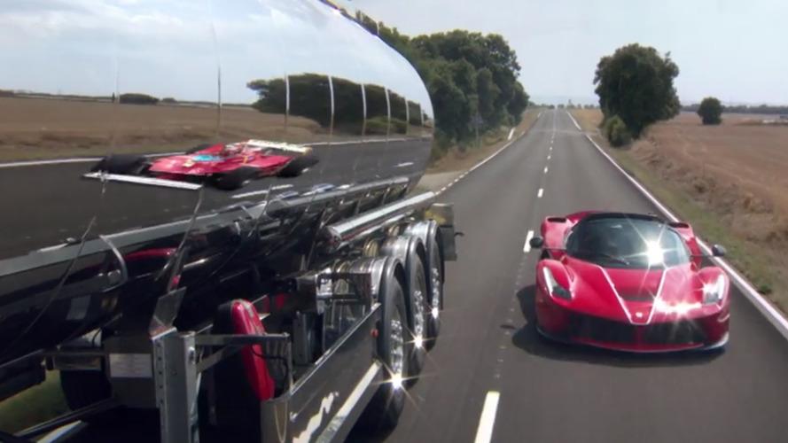 VIDÉO - Ferrari dévoile la LaFerrari Aperta avec Vettel au volant