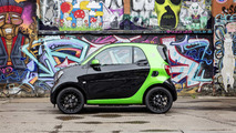 smart fortwo electric drive negro