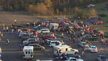 Chevrolet SSR yarış sonrasında kazaya karıştı