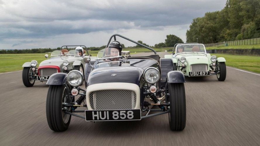 Caterham Seven SuperSprint Revealed At Goodwood Revival