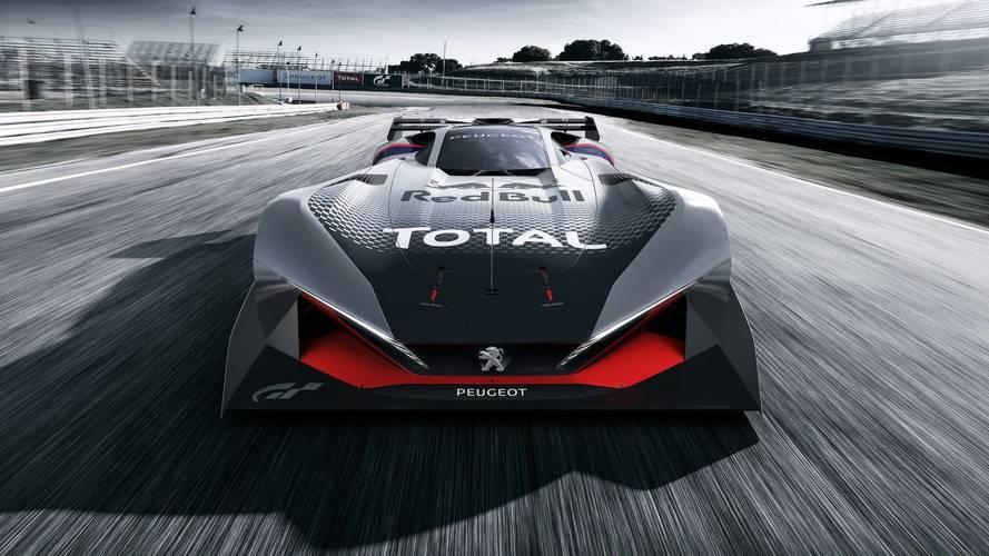 La Peugeot L750 R HYbrid Vision dans Gran Turismo Sport