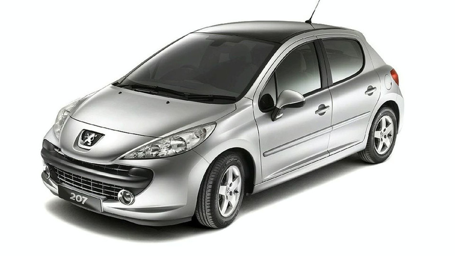 Peugeot 207 Cielo Special Edition for UK