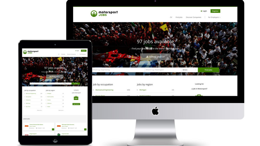 Motorsport Network Launches New Global Jobs Site – Motorsportjobs.com