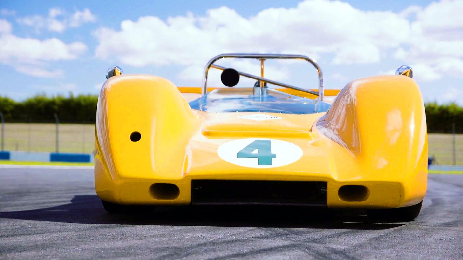 Bruce McLaren s Can Am Conquering M6A Let Loose For 50th Birthday