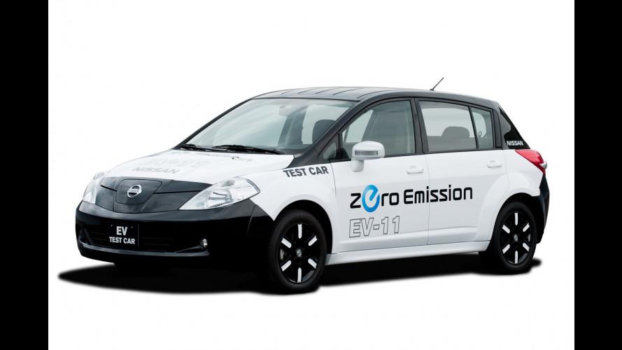 Nissan: ecco la prima elettrica