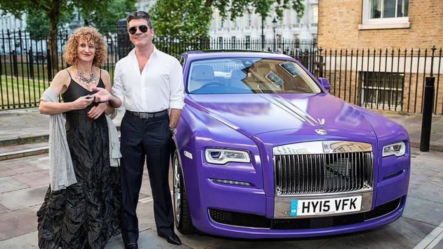 Rolls-Royce builds a one-off Ghost for charity