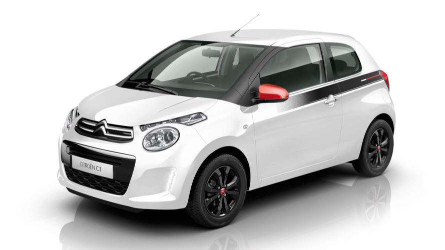 Citroen C1 Furio targets young drivers with sporty looks