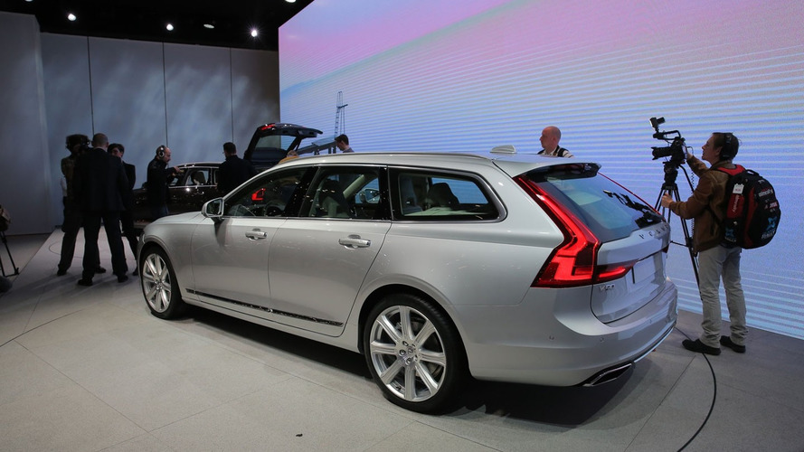 Volvo V90 blends style with practicality in Geneva