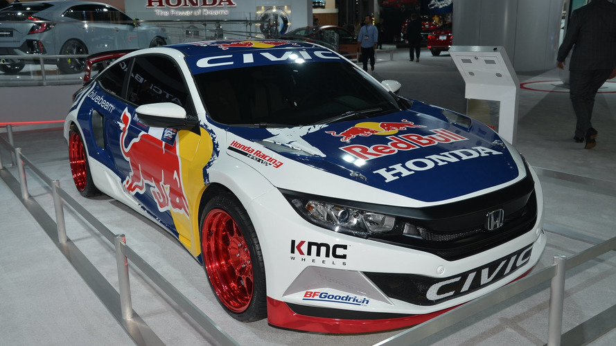 Honda to race in 2016 Global Rallycross with Olsbergs MSE