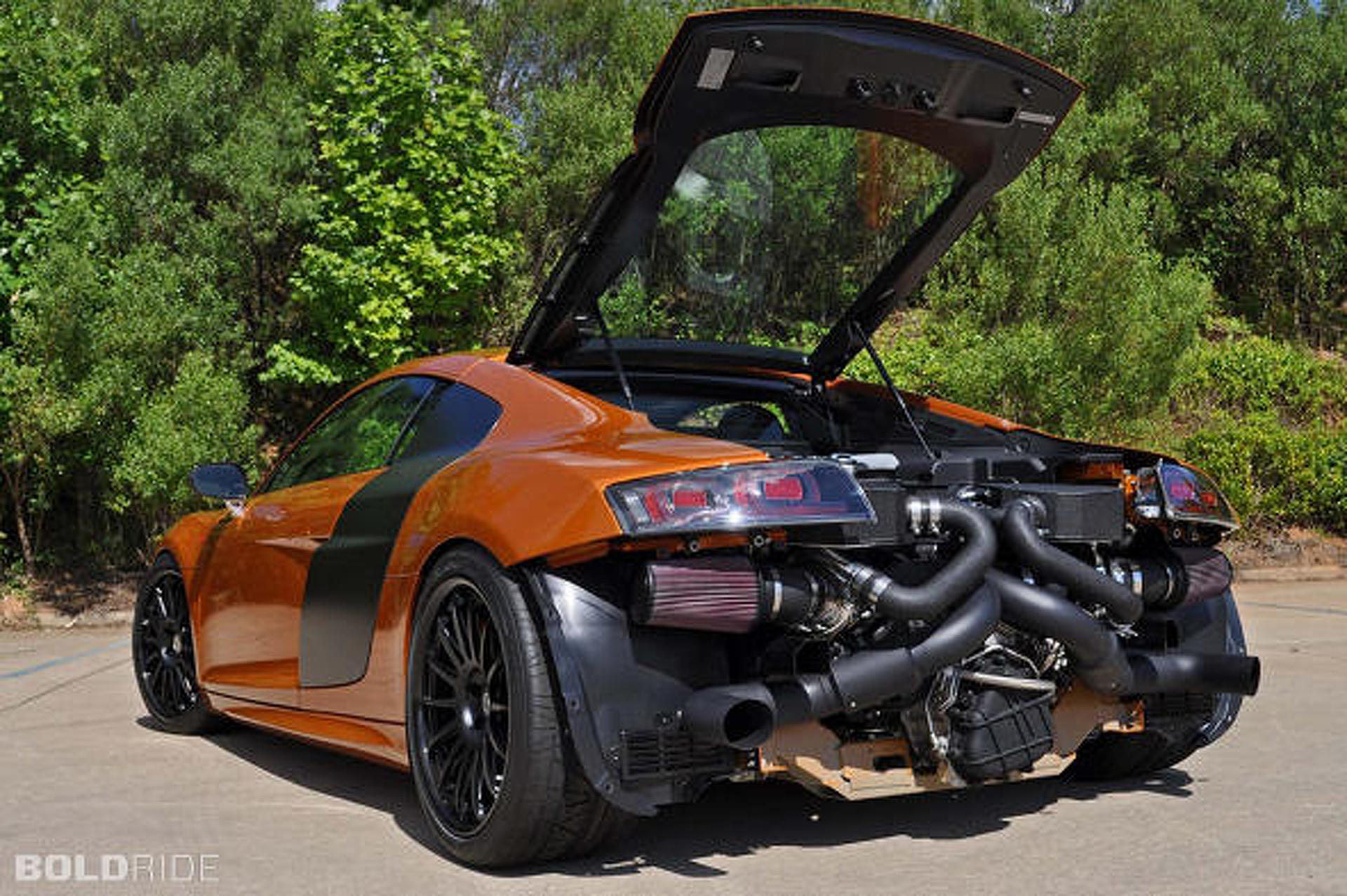 Audi R8 GT Tuned by Underground Racing to 1,000HP!