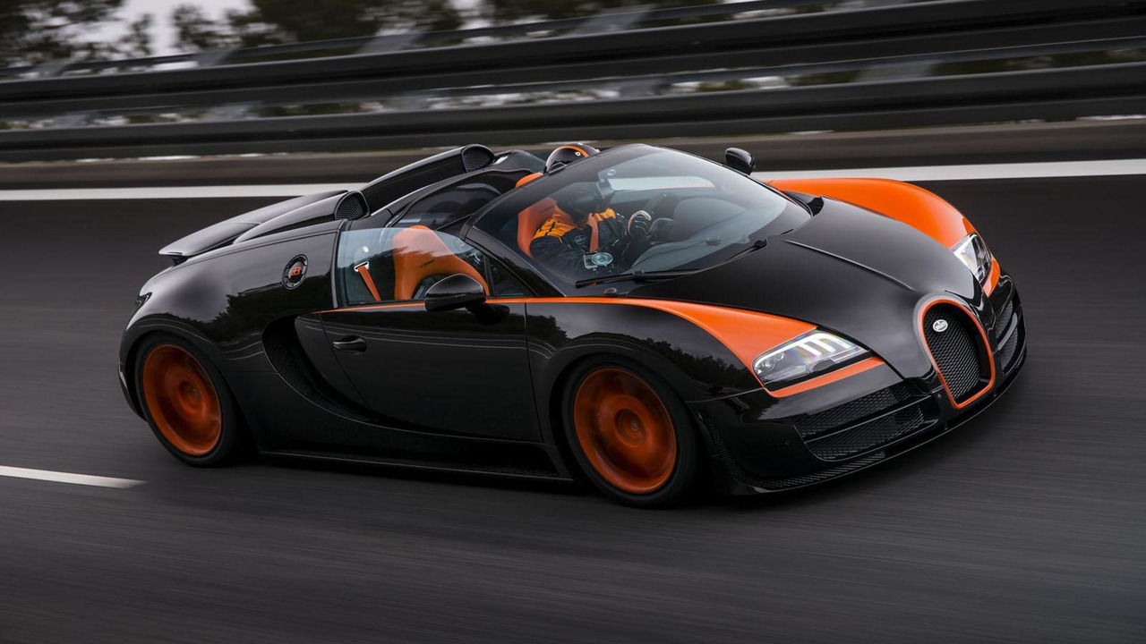 Bugatti Veyron Grand Sport Vitesse World Record Car Edition 11.4.2013