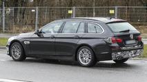 2013 BMW 5-Series Touring spy photo 15.04.2013