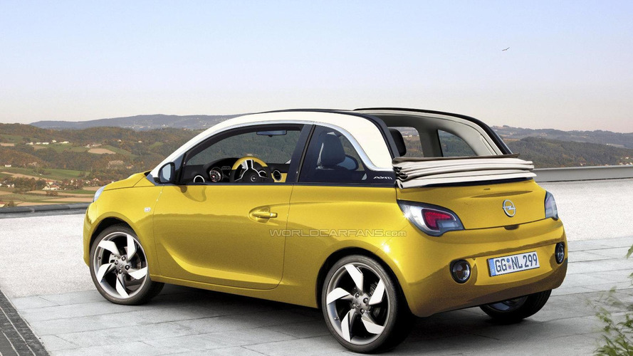 Opel/Vauxhall Adam Cabrio confirmed, on sale late 2014