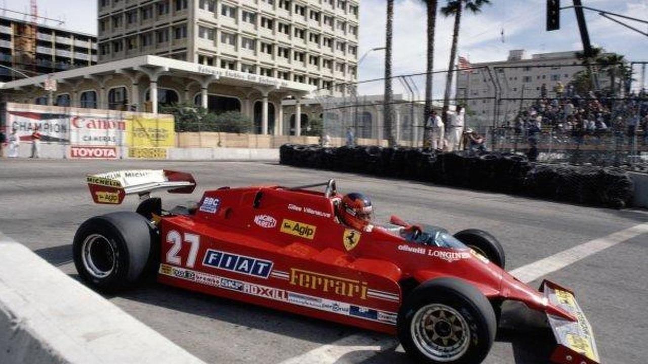 Gilles Villeneuve, Ferrari 126CK, United States Grand Prix West, March 1981
