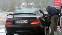 Mercedes SLC Super Sports Car Spy Photos