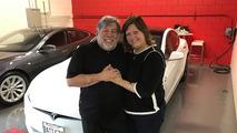 Steve Wozniak Tesla