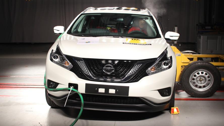 Latin NCAP - Nissan Murano decepciona ao alcançar apenas duas estrelas
