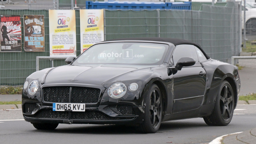 2018 Bentley Continental GT ve GTC, Nürburgring'de gözetlendi