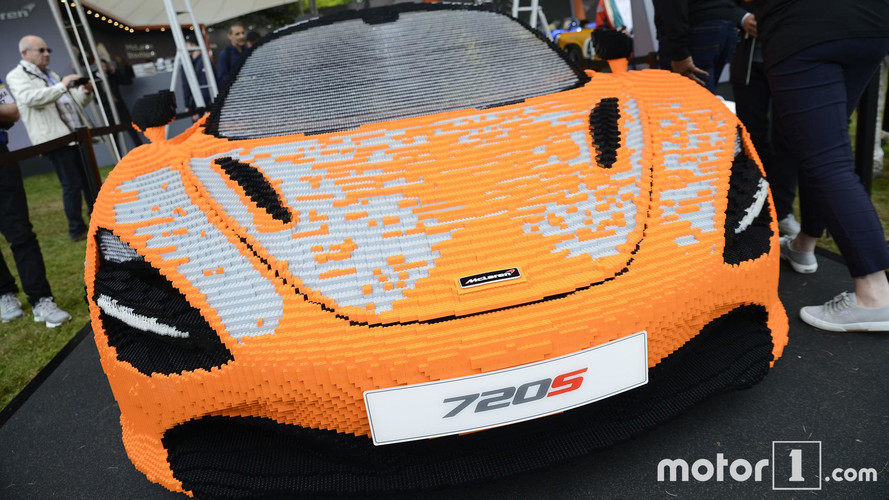 McLaren Takes Amazing Life-Size Lego 720S to Goodwood