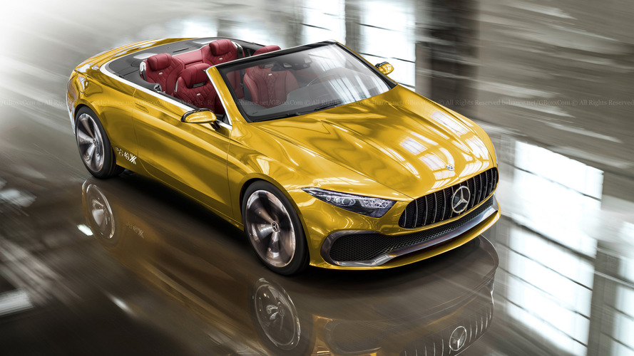 Mercedes Concept A Sedan Loses Roof, Rear Doors In Colourful Renders