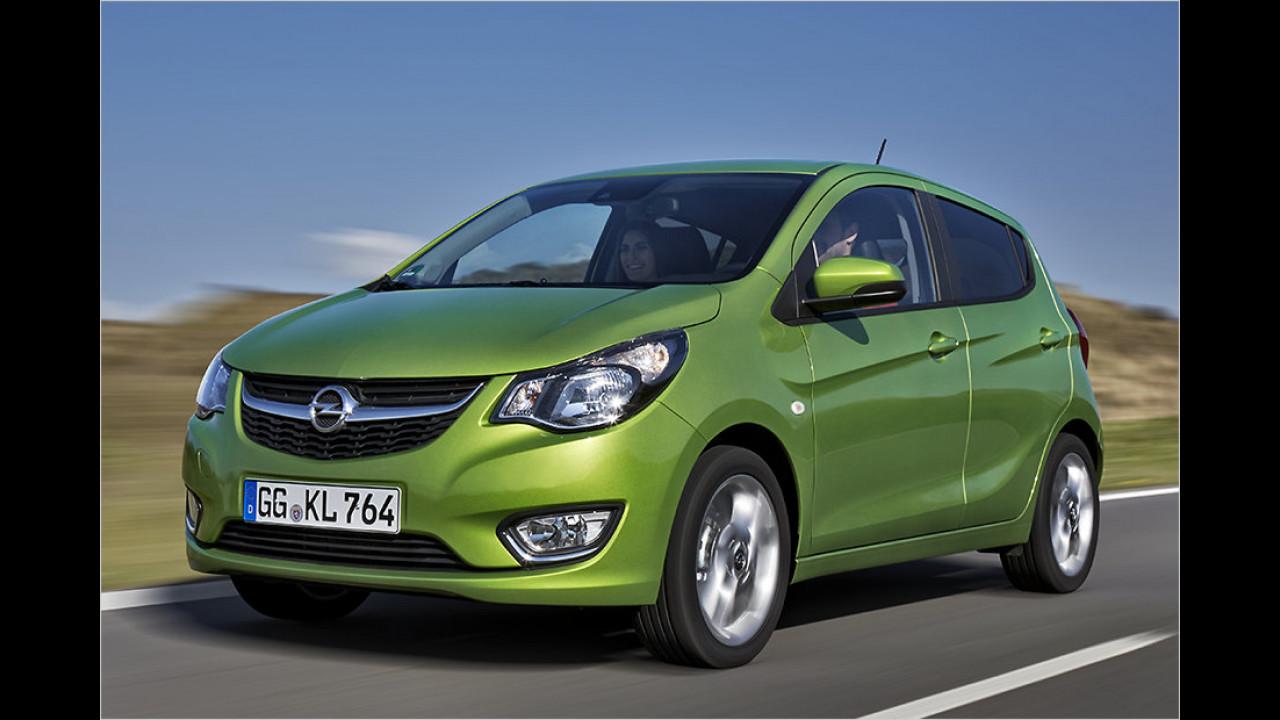 Kleinstwagen: Opel Karl als stärkster Verlierer
