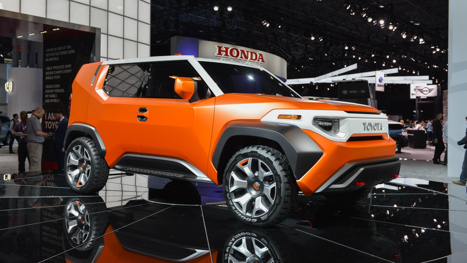 Toyota Hints At FJ Cruiser Revival To Take On The Wrangler
