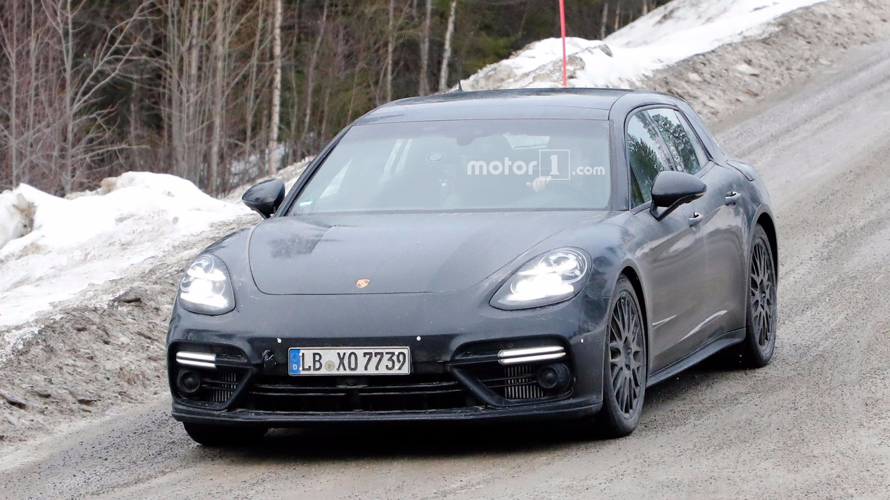 Porsche Panamera Sport Turismo fotos espía