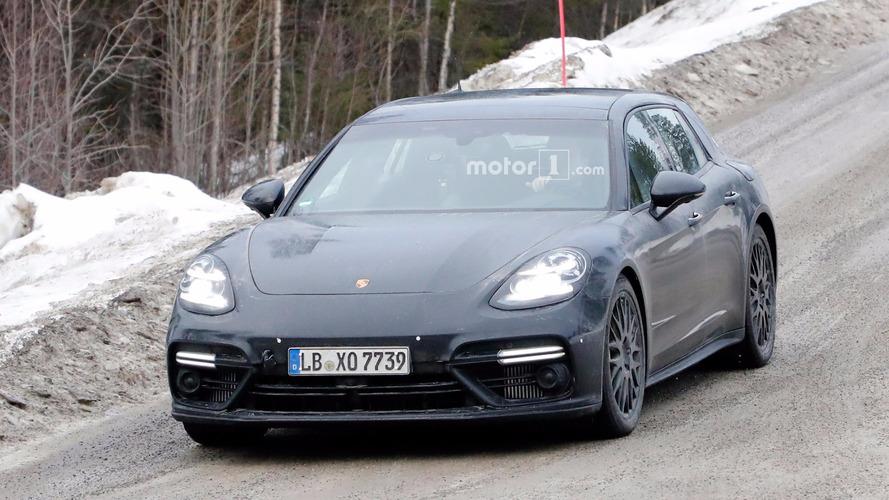 Porsche Panamera Sport Turismo casus fotoğrafları