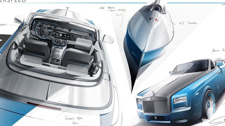 Rolls-Royce Phantom Drophead Coupe Bespoke Waterspeed Collection announced