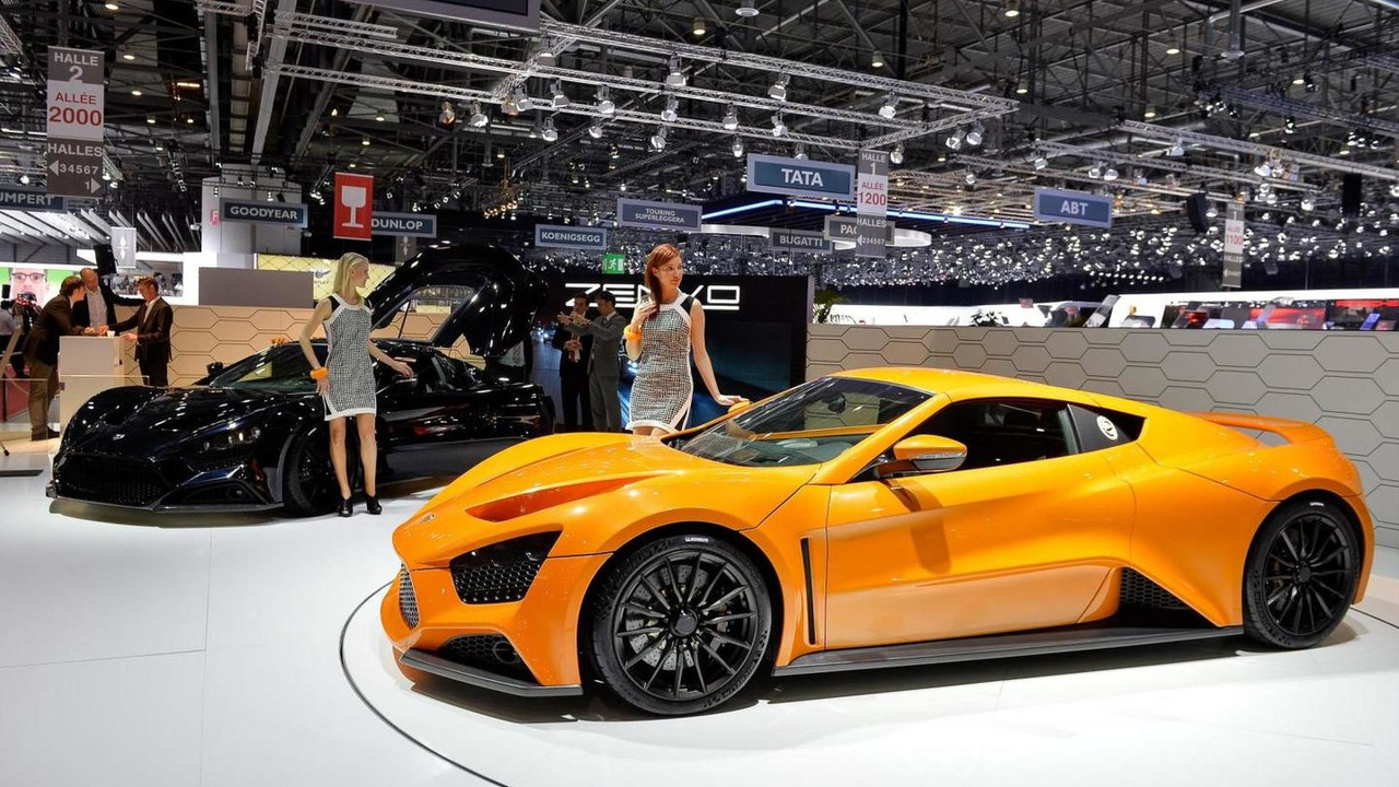 Zenvo ST1  at 2014 Geneva Motor Show