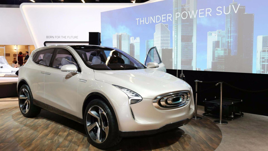 EV Automaker Thunder Power Returns To Frankfurt With Concept SUV