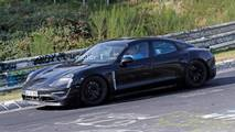 Porsche Mission E Nürburgring Spy Shots