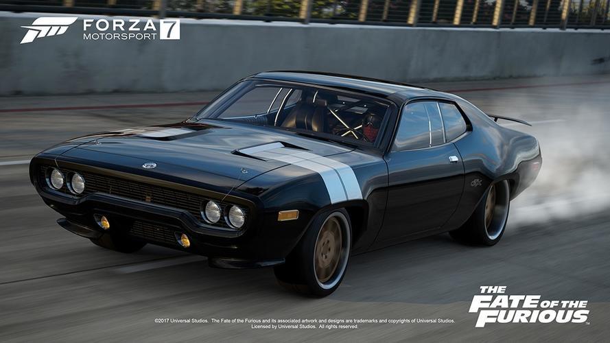 Les voitures de Fast And Furious 8 dans Forza Motorsport 7