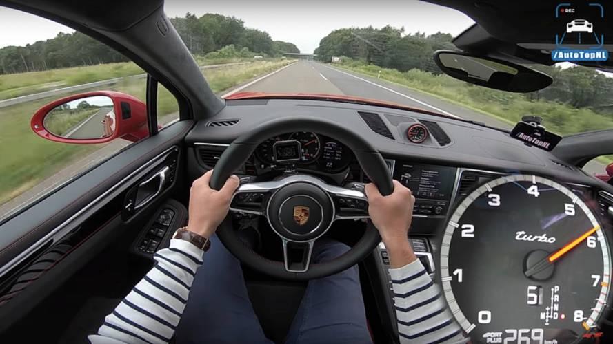 Porsche Macan Turbo Performance Pack otobanda sınırları zorluyor