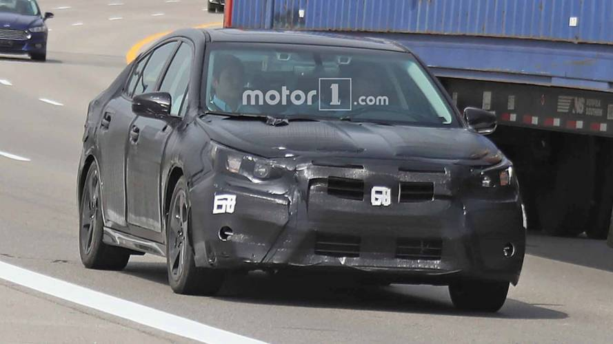 Next-Gen Subaru Legacy Spy Shots