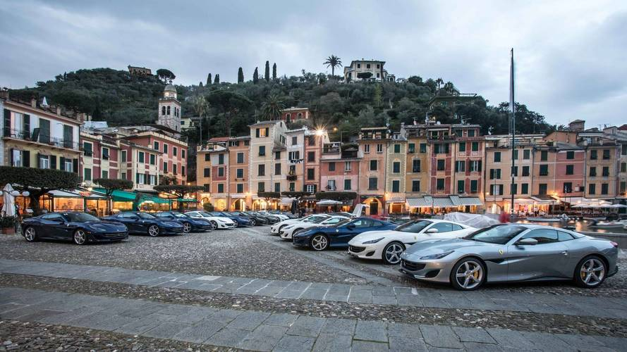 Ferrari Portofino: parte il tour europeo