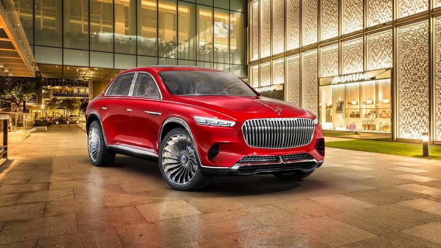 Maybach Vision Ultimate Luxury é uma bizarra mistura de SUV e sedã