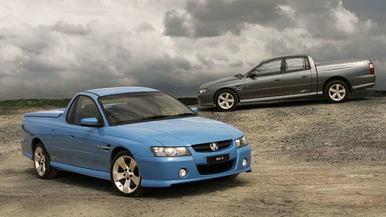 Holden Ute and Crewman SSZ