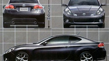 Rendered Toyota/Subaru FR Sports car