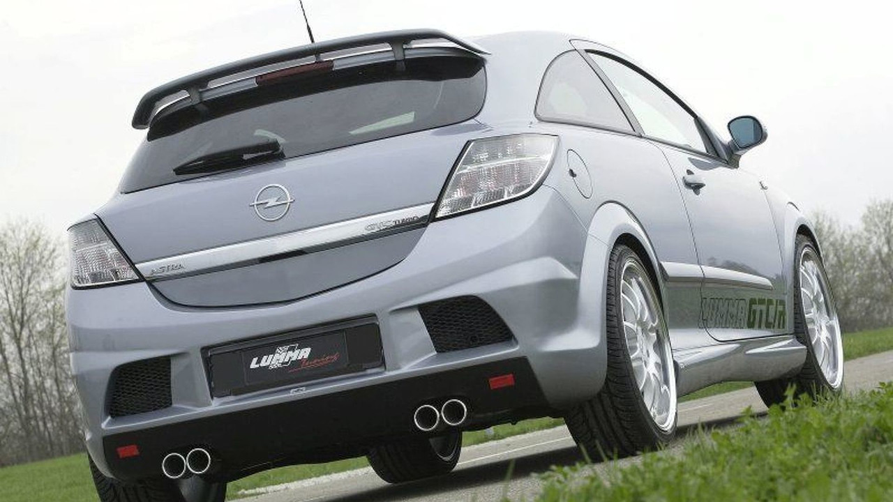 Opel Astra H GTC/R by LUMMA