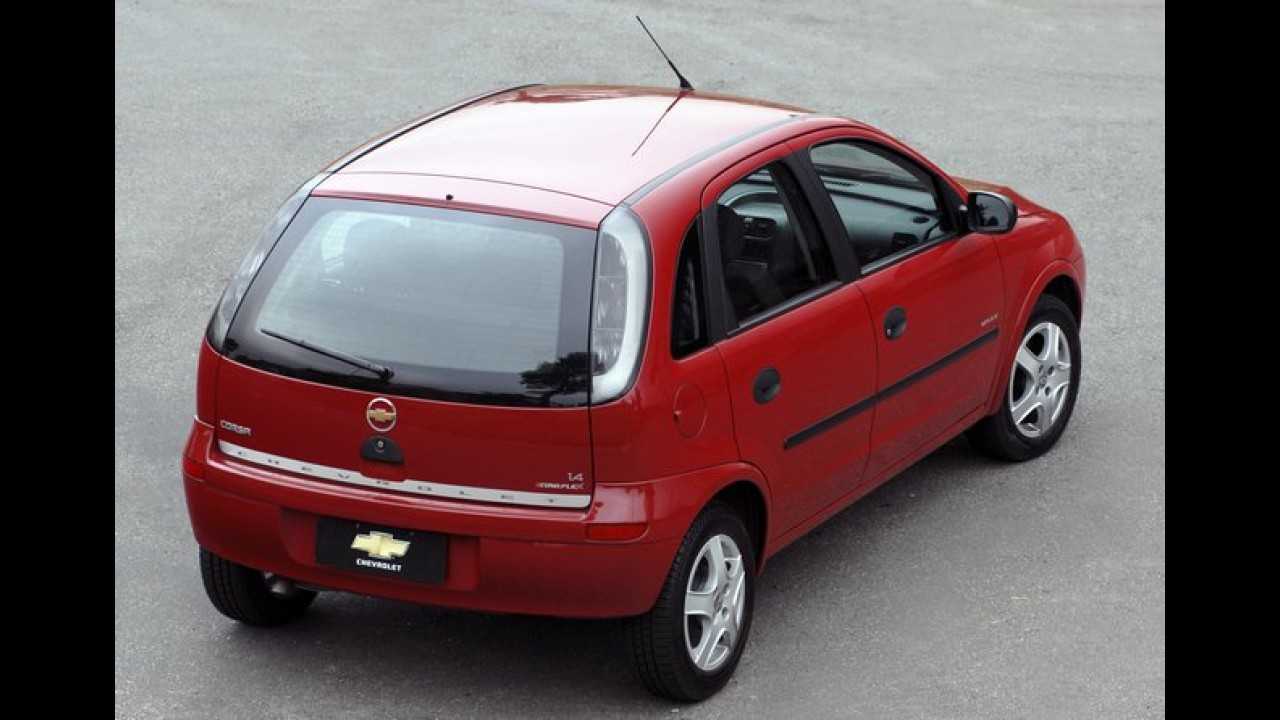 Opel Corsa comemora 30 anos - No Brasil modelo revolucionou os populares